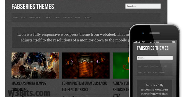 Leon WordPress Theme