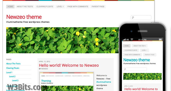 Newzeo WordPress Theme