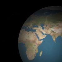 3d Earth with Rotating Animation with CSS