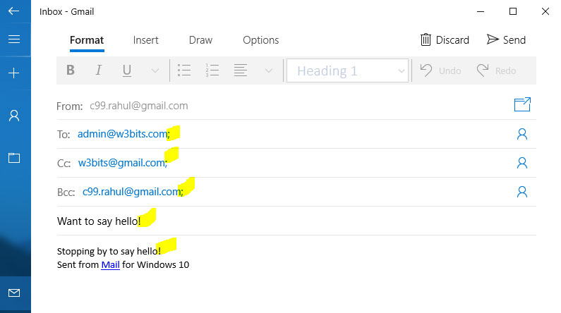 HTML Hyperlinks: Linking email address with message body